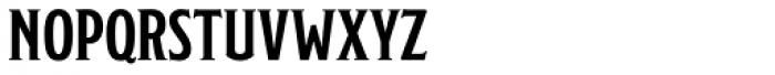 Modesto Lite Condensed Font LOWERCASE