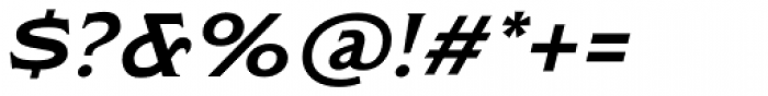 Modesto Lite Expanded Italic Font OTHER CHARS