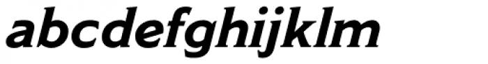 Modesto Text Bold Italic Font LOWERCASE