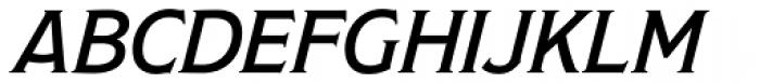 Modesto Text Light Italic Font UPPERCASE