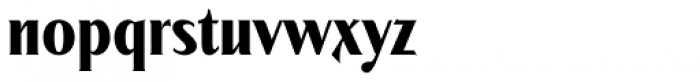 Modkanfire Bold Font LOWERCASE
