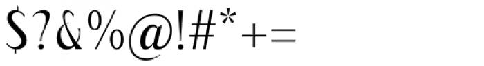Modkanfire Light Font OTHER CHARS