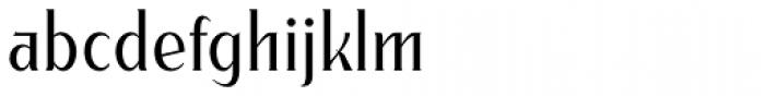 Modkanfire Light Font LOWERCASE