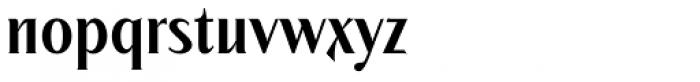 Modkanfire Regular Font LOWERCASE