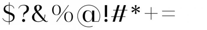 Modny Regular Font OTHER CHARS