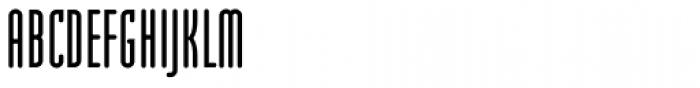 Modula Round Sans Regular Font UPPERCASE