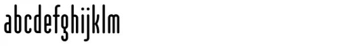 Modula Round Sans Regular Font LOWERCASE