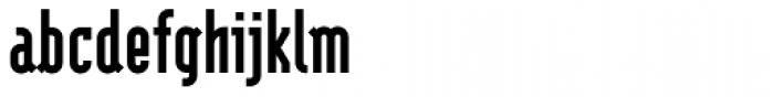 Modula Sans Black Font LOWERCASE