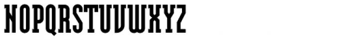 Modula Serif Black Font UPPERCASE