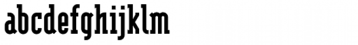 Modula Serif Black Font LOWERCASE