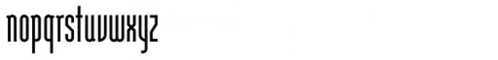 Modula Tall Font LOWERCASE