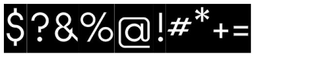 Modular Sans Roman0 Font OTHER CHARS
