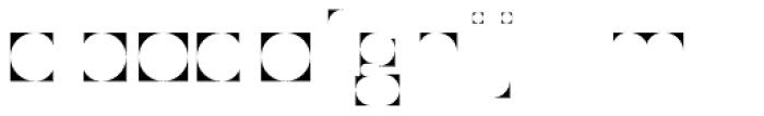 Modular Sans Roman1 Font LOWERCASE