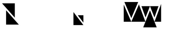 Modular Sans Roman2 Font UPPERCASE