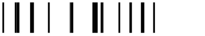 Modular Sans Roman3 Font OTHER CHARS
