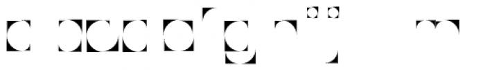 Modular Slab Bold1 Font LOWERCASE