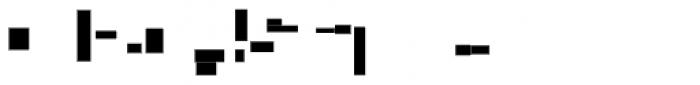 Modular Slab Bold5 Font OTHER CHARS