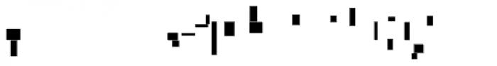 Modular Slab Bold5 Font LOWERCASE