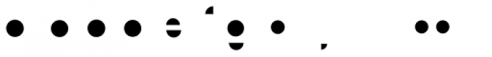 Modular Slab Bold6 Font LOWERCASE
