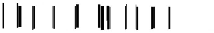 Modular Slab Roman3 Font OTHER CHARS