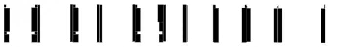 Modular Slab Roman3 Font UPPERCASE