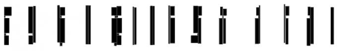 Modular Slab Roman3 Font LOWERCASE