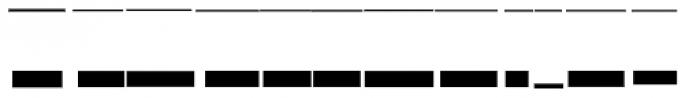 Modular Slab Roman4 Font UPPERCASE