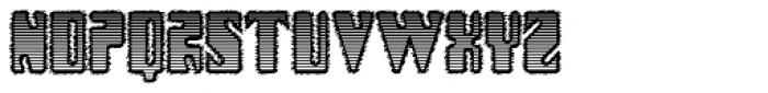 Modularico E 4F Font UPPERCASE