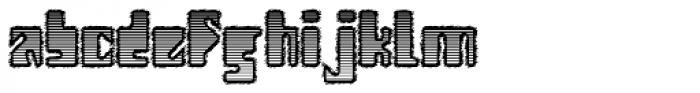 Modularico E 4F Font LOWERCASE