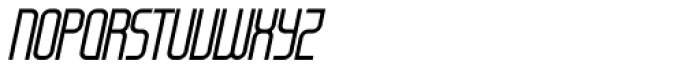 Modulogue Italic Font UPPERCASE