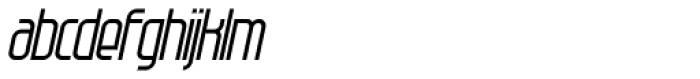 Modulogue Italic Font LOWERCASE