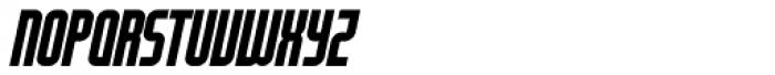 Modulogue SC Bold Italic Font UPPERCASE
