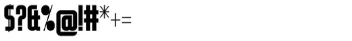 Modulogue SC Bold Font OTHER CHARS