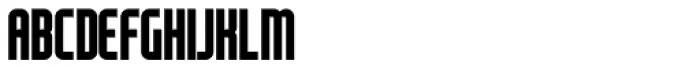 Modulogue SC Bold Font UPPERCASE