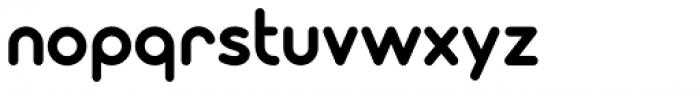 Modulus Pro Bold Font LOWERCASE