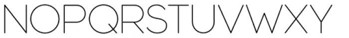 Modulus Pro Extra Light Font UPPERCASE