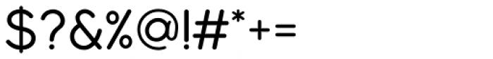 Modulus Pro Medium Font OTHER CHARS