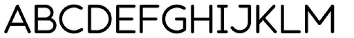 Modulus Pro Medium Font UPPERCASE