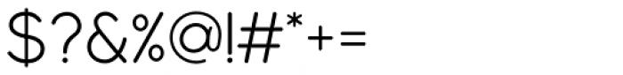 Modulus Pro Regular Font OTHER CHARS