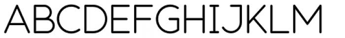 Modulus Pro Regular Font UPPERCASE