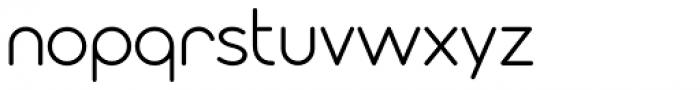 Modulus Pro Regular Font LOWERCASE