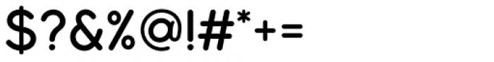 Modulus Pro Semi Bold Font OTHER CHARS