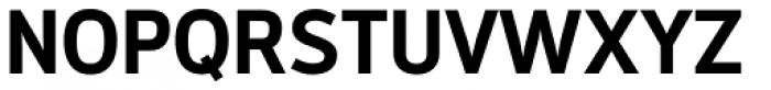 Modus Bold Font UPPERCASE