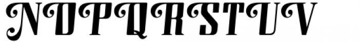 Modusa Regular Font UPPERCASE