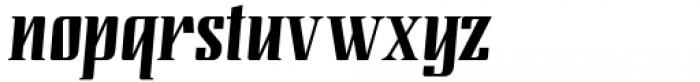 Modusa Regular Font LOWERCASE