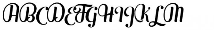 Mofita Italic Font UPPERCASE
