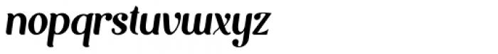 Mofita Italic Font LOWERCASE