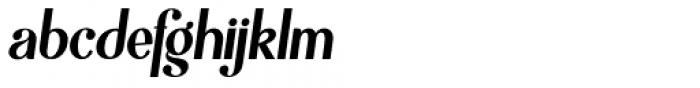 Mofita Po Italic Font LOWERCASE