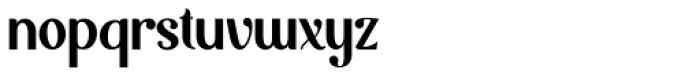 Mofita Po Regular Font LOWERCASE