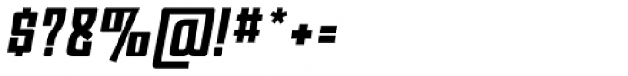 Moho OT Bold Italic Font OTHER CHARS